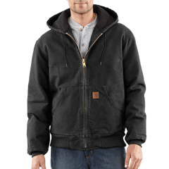 Carhartt Quilt Flannel Washed Active Jac J130